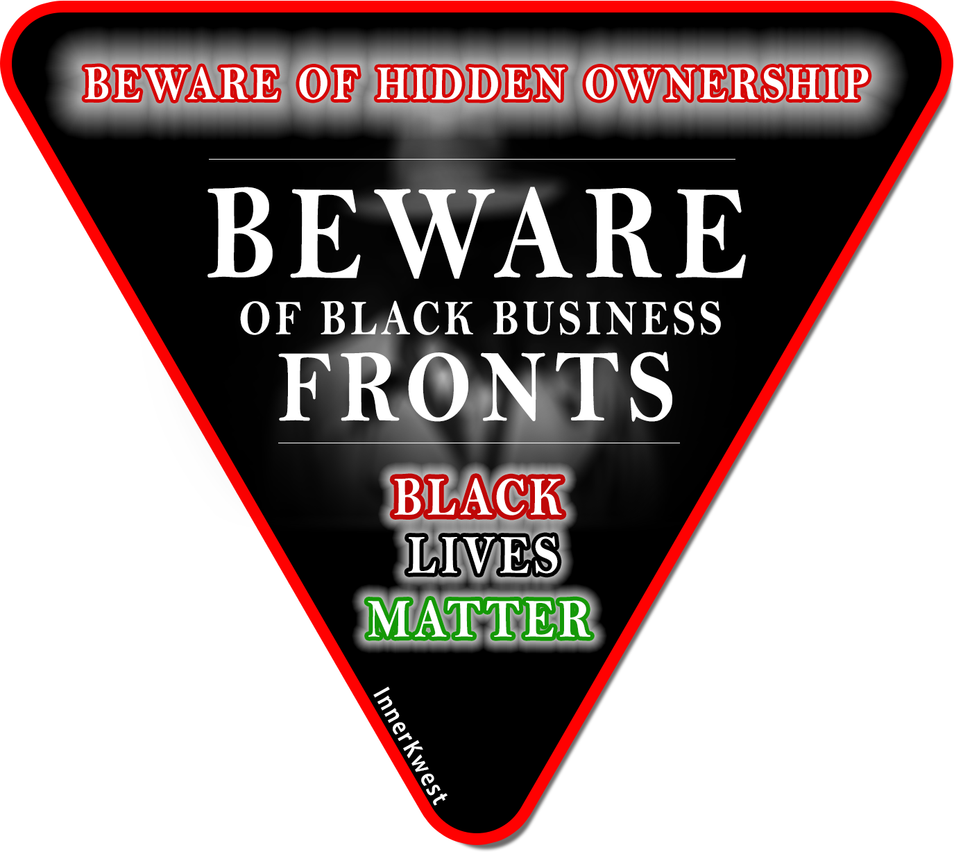 Beware of Black Business Fronts